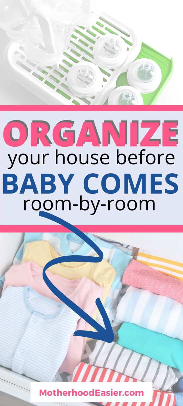 how to prepare your home for a new baby--16 ways to get your home ready for baby