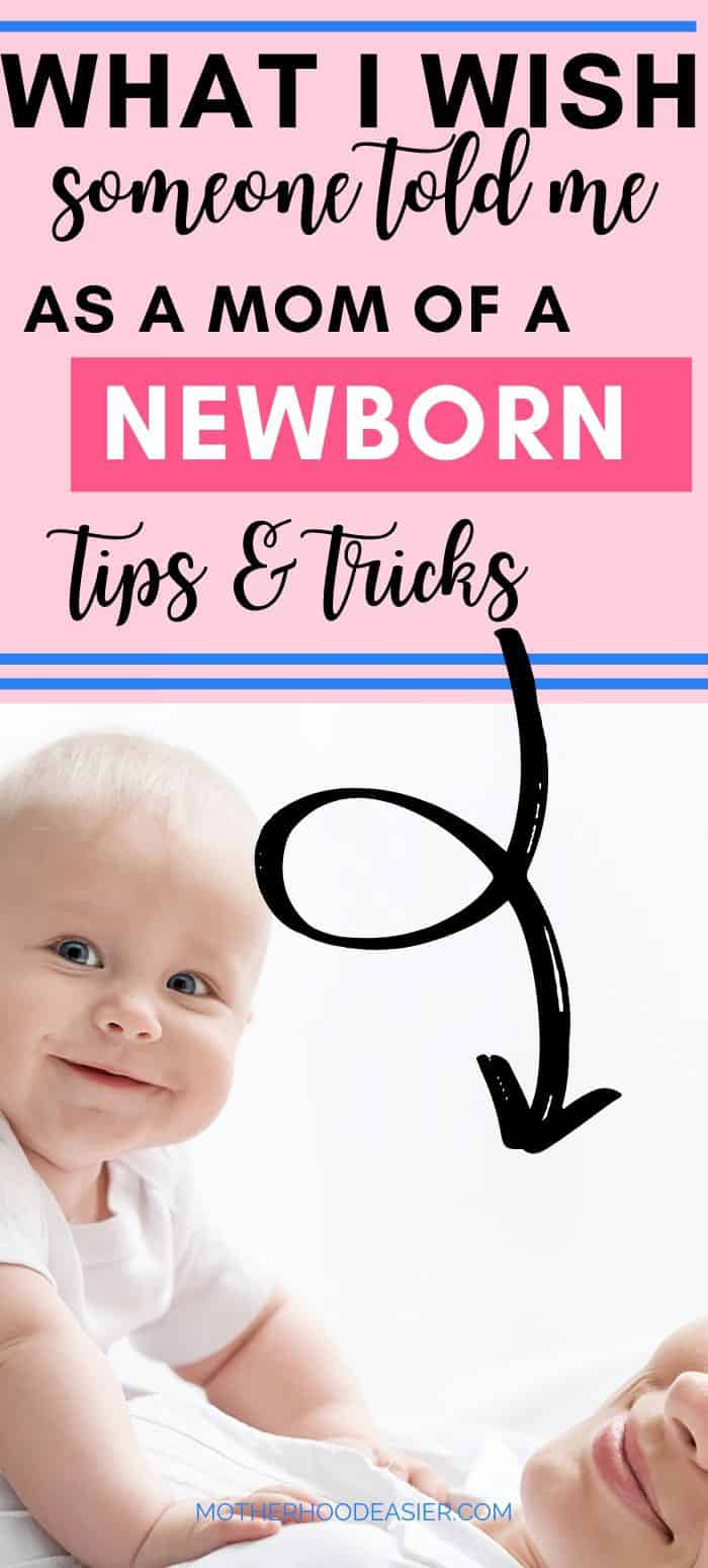 new mom tips that help with newborns