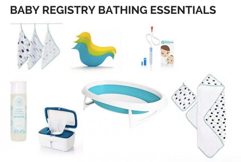 what are the must-have baby registry essentials